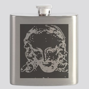 An off the charts cool, Jesus Tee shirt, per Flask