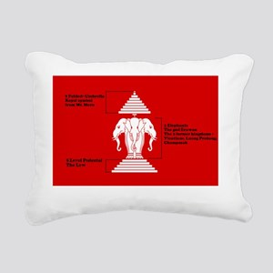 Flag-old-b Rectangular Canvas Pillow