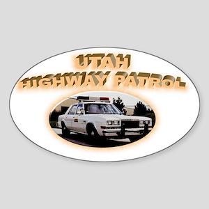 utahgranfury Sticker (Oval)
