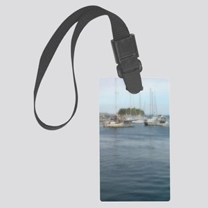 Camden Maine Journal Large Luggage Tag