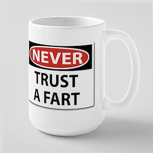 Never Trust A Fart.png Mugs