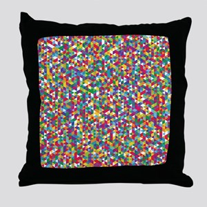 Isometric Duvet Throw Pillow