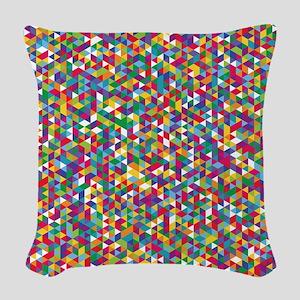 Isometric Duvet Woven Throw Pillow