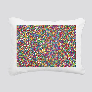 Isometric Duvet Rectangular Canvas Pillow