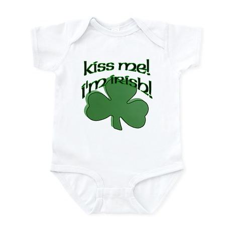 Kiss me, I'm Irish! Infant Bodysuit