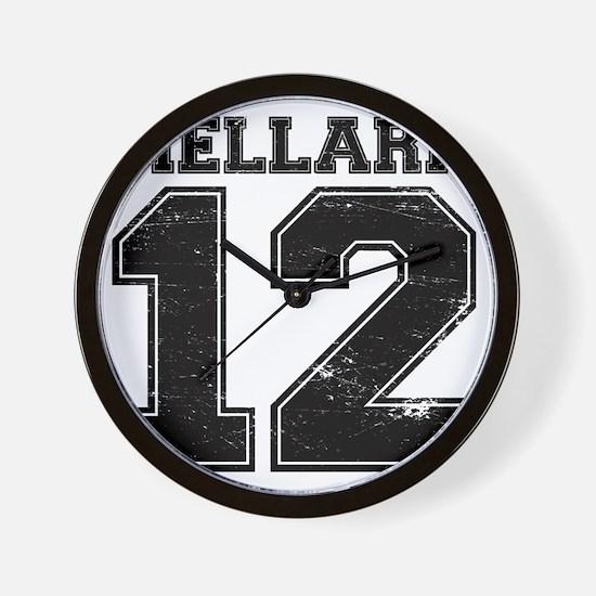 Dist12_Mellark_Ath Wall Clock