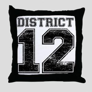Dist12_Ath Throw Pillow