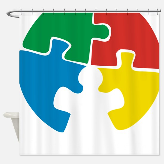 missing piece2 Shower Curtain