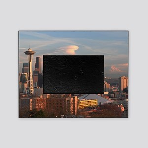 Seattle Space Needle Skyline Picture Frame