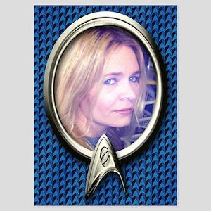 Personalizable Star Trek Science Fr 5x7 Flat Cards