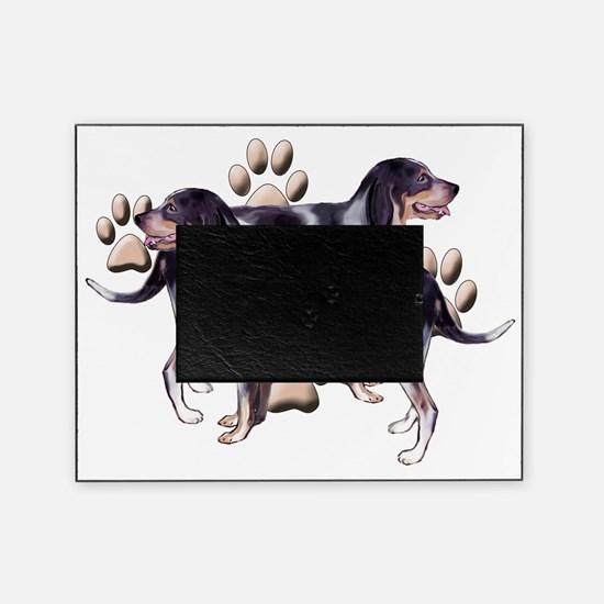 Coonhounds and Paws Picture Frame