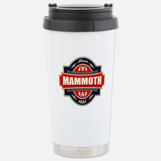 Mammoth Mtn Old Label Stainless Steel Travel Mug