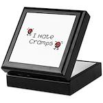 I Hate Cramps Keepsake Box