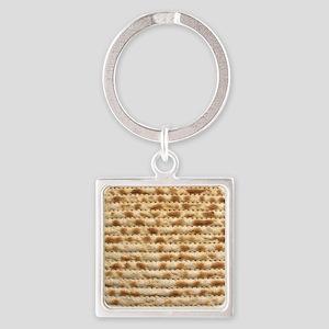 Matzah Square Keychain