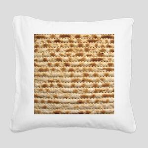 Matzah Square Canvas Pillow
