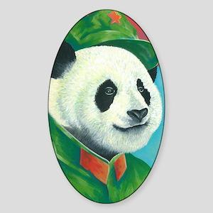 Citizen Panda Sticker (Oval)