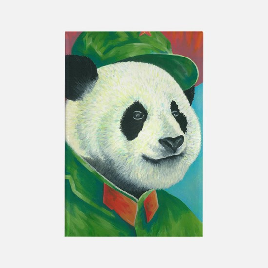 Citizen Panda Rectangle Magnet