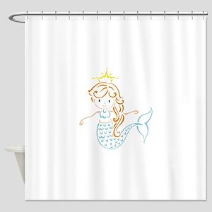 Marmaid Fairy Shower Curtain