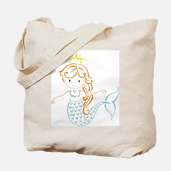 Marmaid Fairy Tote Bag