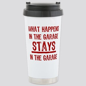 Stays In The Garage Stainless Steel Travel Mug