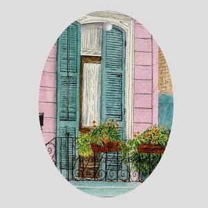 doorwallpeel Oval Ornament
