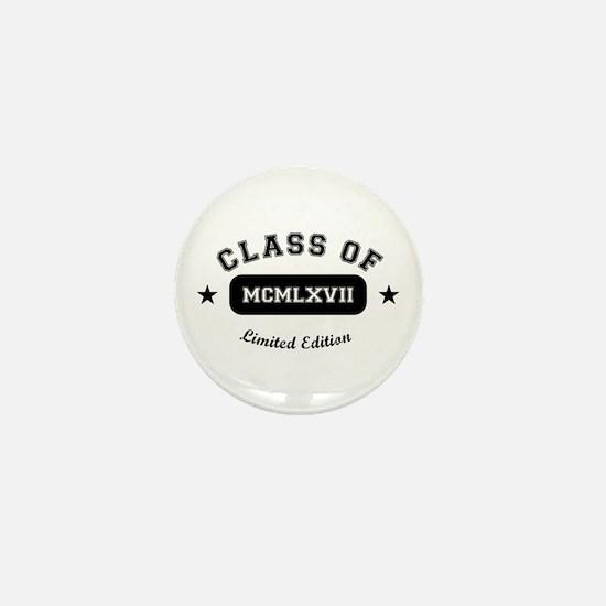Class of 1967 Mini Button