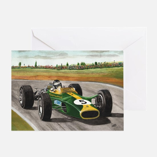 Jim Clark 001 Greeting Card