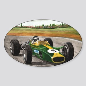 Jim Clark 001 Sticker (Oval)