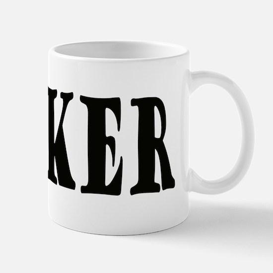 Wanker (white) Mug