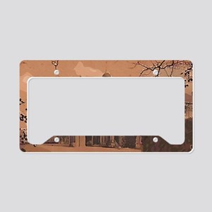 Lossit House Print License Plate Holder