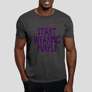 Start Wearing Purple Dark T-Shirt