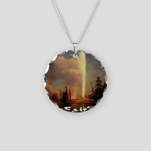 old_faithful1024x1024 Necklace Circle Charm