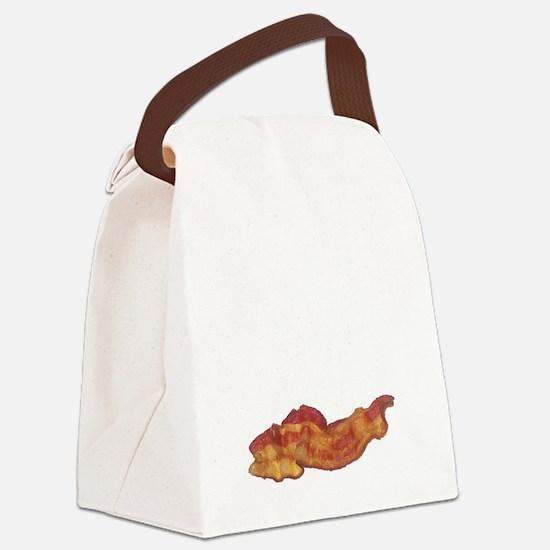 baconpoem Canvas Lunch Bag