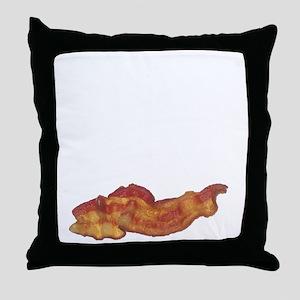 baconpoem Throw Pillow