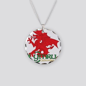 Celtic and Proud Apperal Cym Necklace Circle Charm
