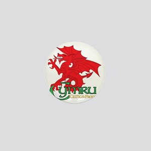 Celtic and Proud Apperal Cymru 2 Mini Button