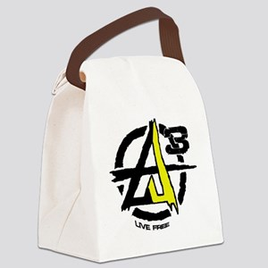 AGORIST Logo Canvas Lunch Bag