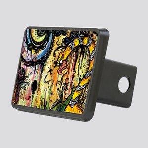Spaced Out Laptop Skin Rectangular Hitch Cover