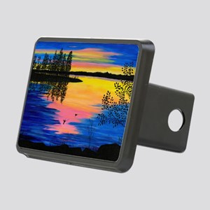 sunpuzzle Rectangular Hitch Cover