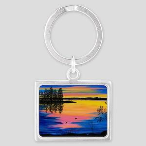 sunsticker Landscape Keychain