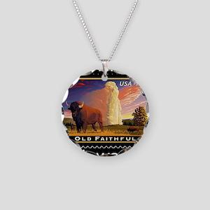 mailmeto_yellowstone_reverse Necklace Circle Charm