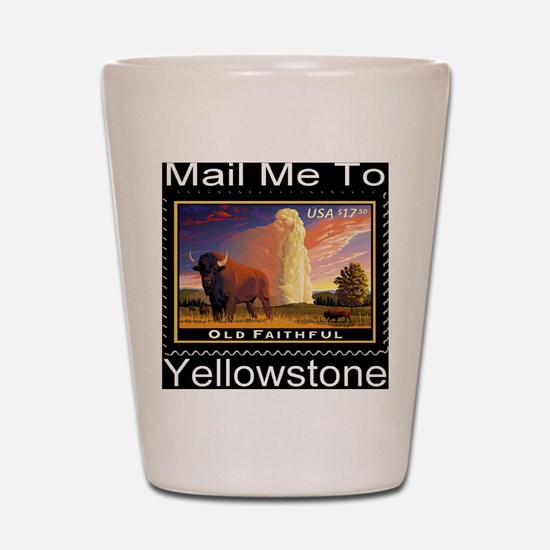 mailmeto_yellowstone_reverse Shot Glass