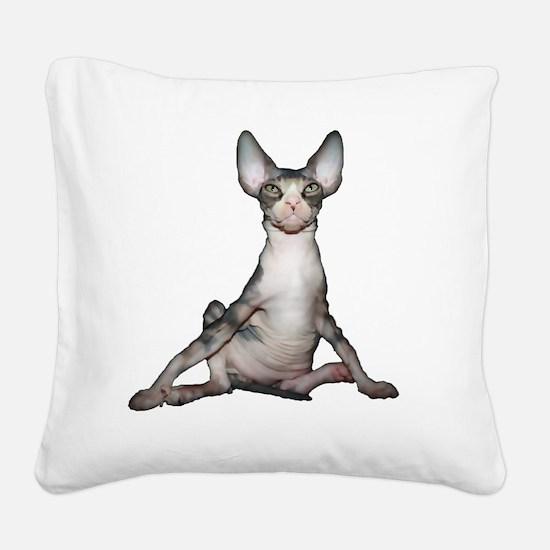 michelle Square Canvas Pillow