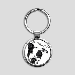 GotPibble Round Keychain