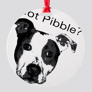 GotPibble Round Ornament