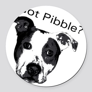 GotPibble Round Car Magnet
