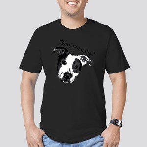 GotPibble Men's Fitted T-Shirt (dark)