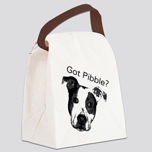 GotPibble Canvas Lunch Bag
