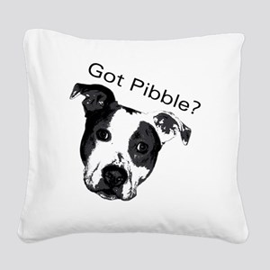 GotPibble Square Canvas Pillow
