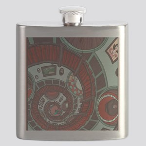 spiral stairs Flask